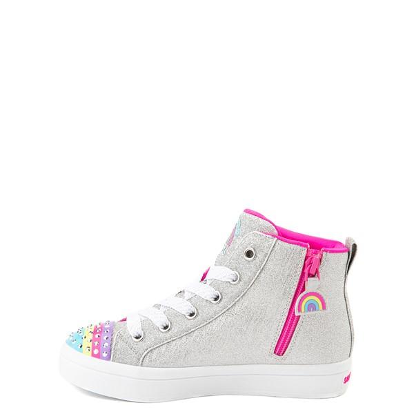 alternate view Skechers Twinkle Toes Twi-Lites Rainbow Cloud Sneaker - Little Kid - SilverALT1B