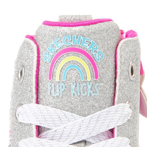 alternate view Skechers Twinkle Toes Twi-Lites Rainbow Cloud Sneaker - Little Kid - SilverALT2B