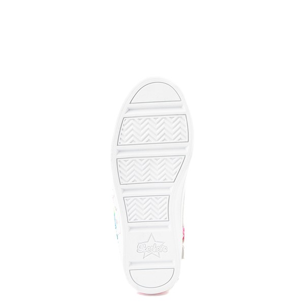 alternate view Skechers Twinkle Toes Twi-Lites Rainbow Cloud Sneaker - Little Kid - SilverALT3