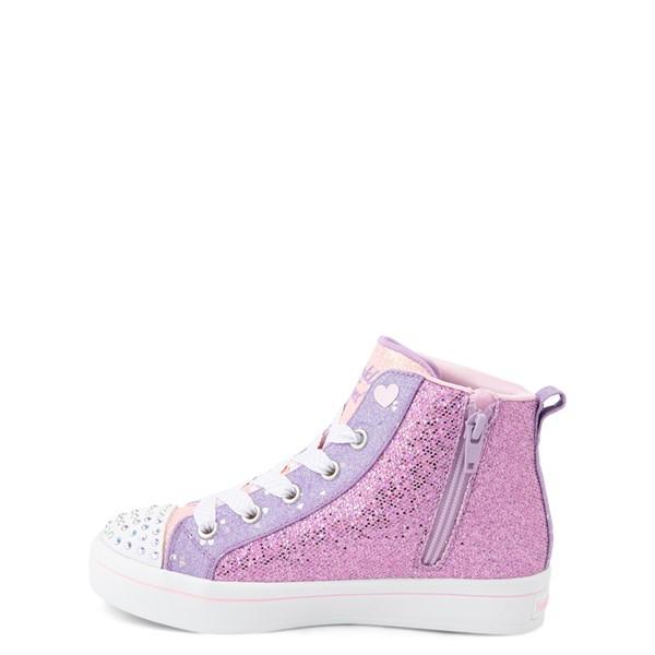 alternate view Skechers Twinkle Toes Twi-Lites Butterfly Wishes Sneaker - Little Kid - PinkALT1D