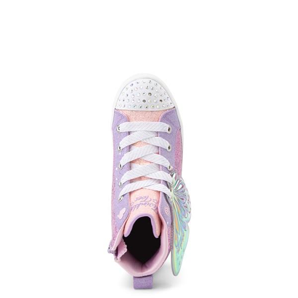 alternate view Skechers Twinkle Toes Twi-Lites Butterfly Wishes Sneaker - Little Kid - PinkALT2