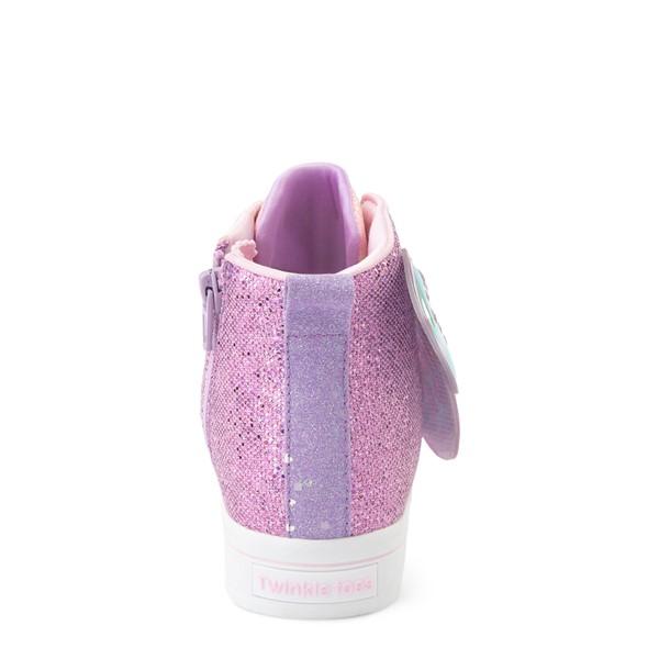 alternate view Skechers Twinkle Toes Twi-Lites Butterfly Wishes Sneaker - Little Kid - PinkALT4