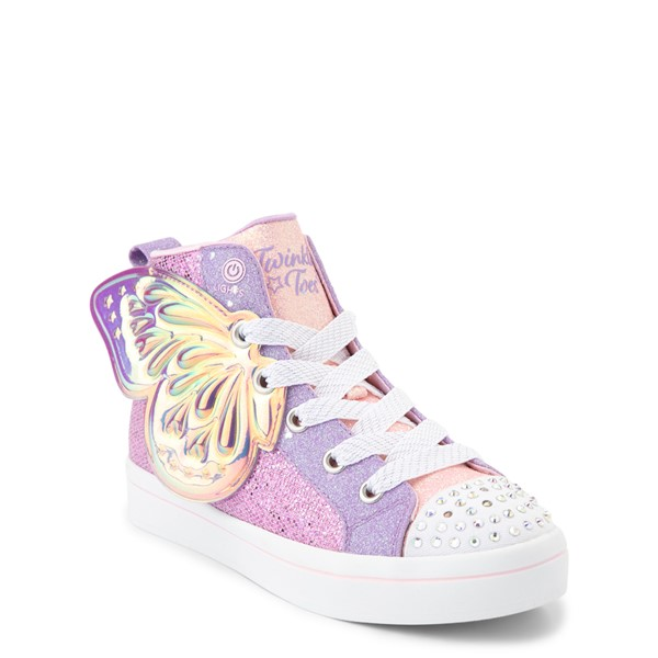 alternate view Skechers Twinkle Toes Twi-Lites Butterfly Wishes Sneaker - Little Kid - PinkALT5