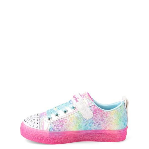 alternate view Skechers Twinkle Toes Shuffle Brights Shooting Star Sneaker - Little Kid - MulticolorALT1B