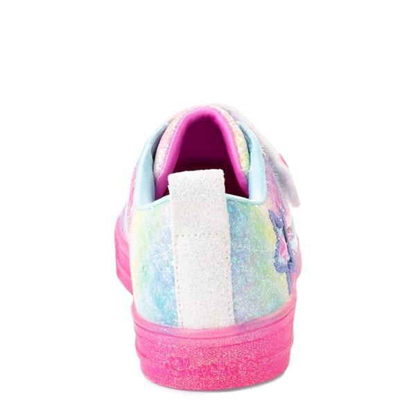 alternate view Skechers Twinkle Toes Shuffle Brights Shooting Star Sneaker - Little Kid - MulticolorALT4