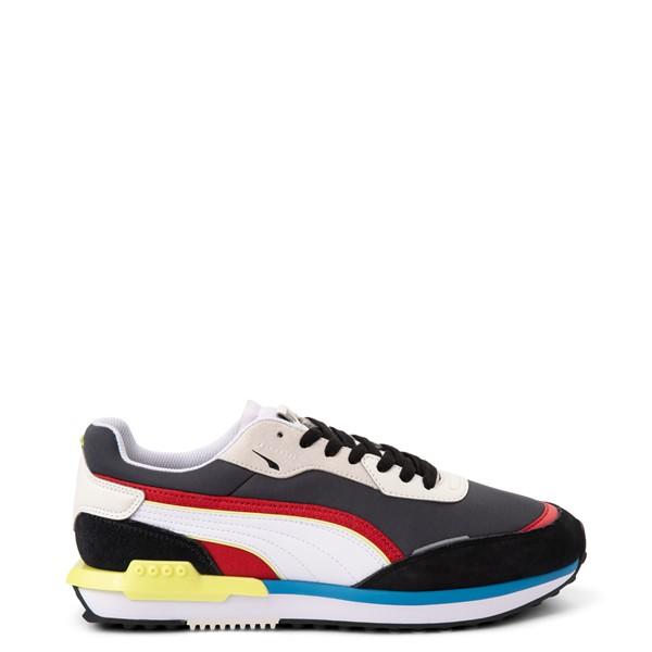 Mens Puma City Rider Athletic Shoe - Multicolor