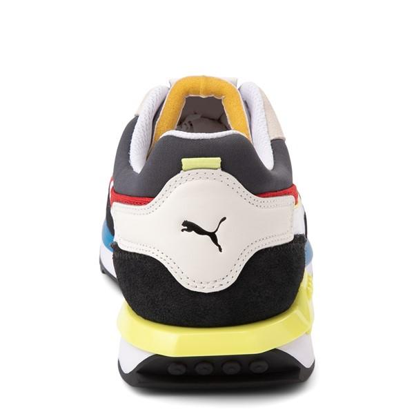alternate view Mens Puma City Rider Athletic Shoe - MulticolorALT4