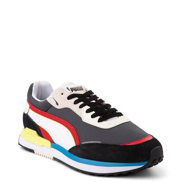 alternate view Mens Puma City Rider Athletic Shoe - MulticolorALT5