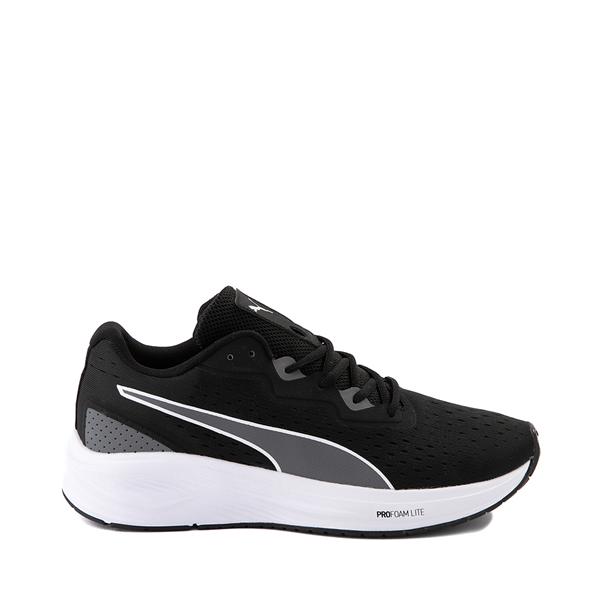 Mens Puma Aviator Athletic Shoe - Black / Castlerock