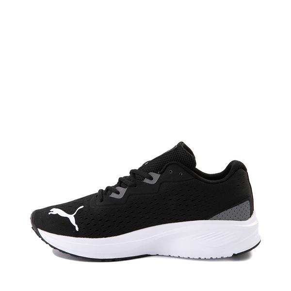 alternate view Mens Puma Aviator Athletic Shoe - Black / CastlerockALT1