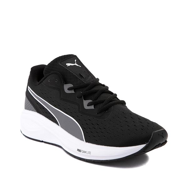alternate view Mens Puma Aviator Athletic Shoe - Black / CastlerockALT5