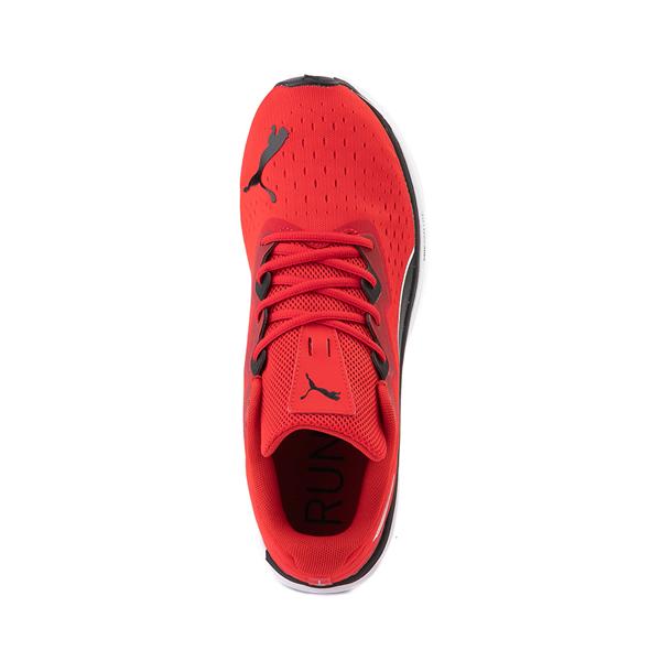 alternate view Mens Puma Aviator Athletic Shoe - Red / BlackALT2