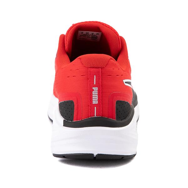 alternate view Mens Puma Aviator Athletic Shoe - Red / BlackALT4