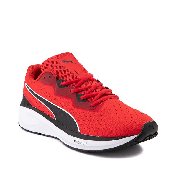 alternate view Mens Puma Aviator Athletic Shoe - Red / BlackALT5