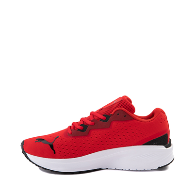 Alternate view of Mens Puma Aviator Athletic Shoe - Red / Black