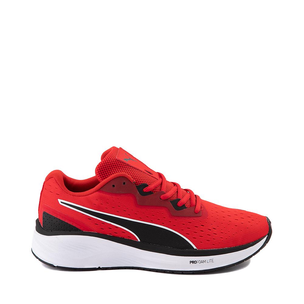 Mens Puma Aviator Athletic Shoe - Red / Black