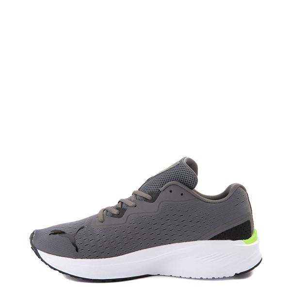 alternate view Mens Puma Aviator Athletic Shoe - Gray / GreenALT1