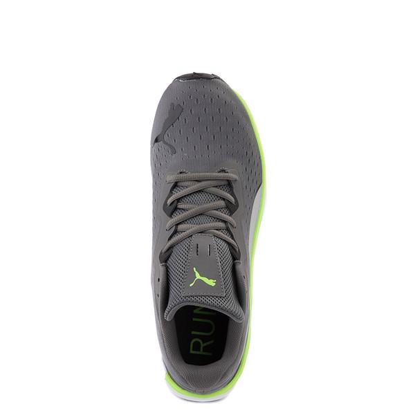 alternate view Mens Puma Aviator Athletic Shoe - Gray / GreenALT2