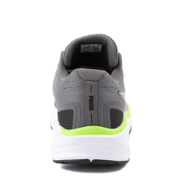 alternate view Mens Puma Aviator Athletic Shoe - Gray / GreenALT4