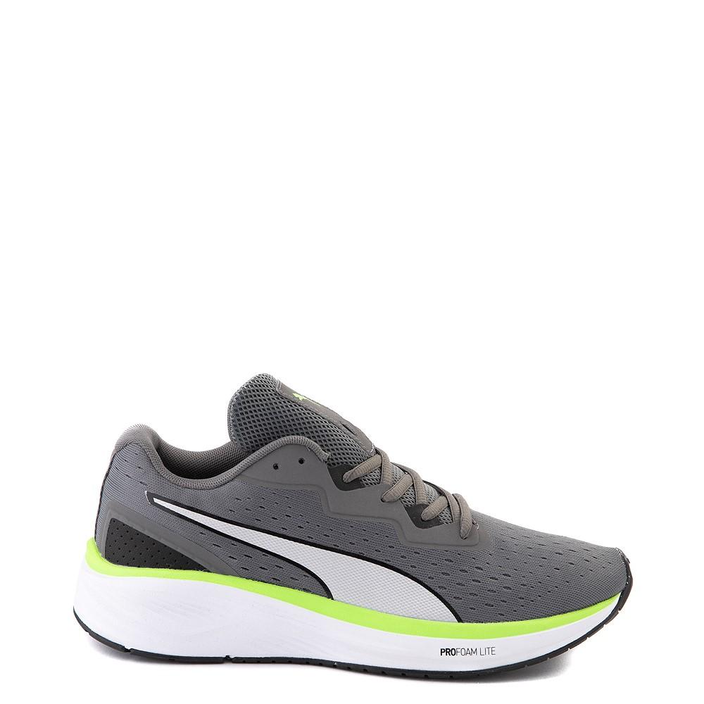 Mens Puma Aviator Athletic Shoe - Gray / Green