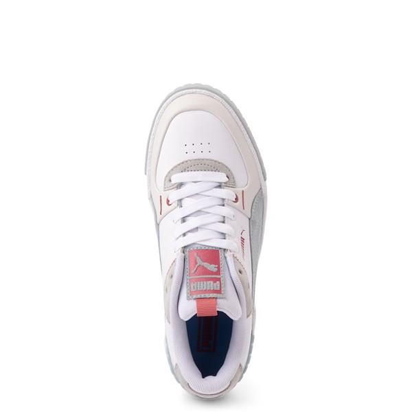 alternate view Womens Puma Cali Sport Athletic Shoe - White / GrayALT2