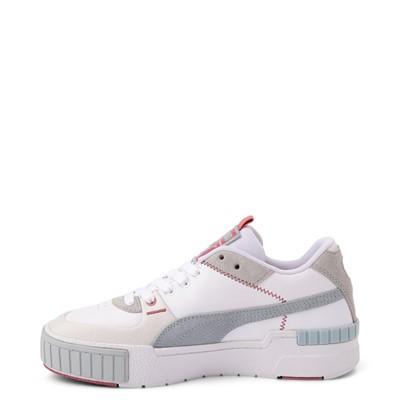 Alternate view of Womens Puma Cali Sport Athletic Shoe - White / Gray
