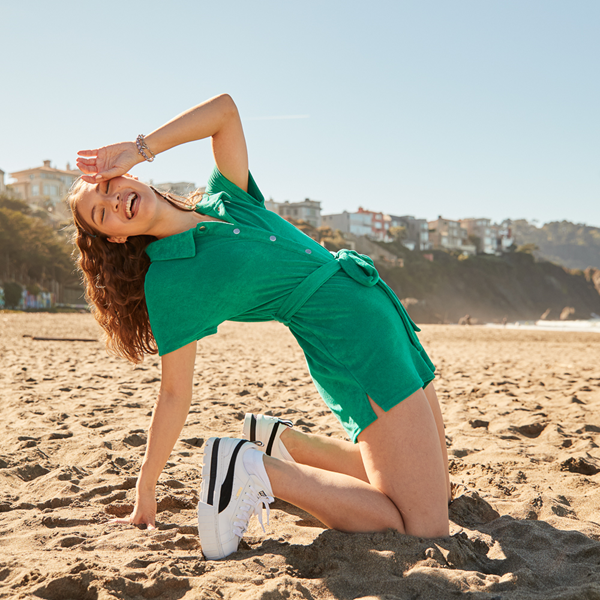 alternate view Womens Puma Mayze Platform Athletic Shoe - White / BlackALT1B