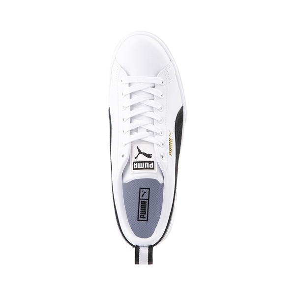alternate view Womens Puma Mayze Platform Athletic Shoe - White / BlackALT2
