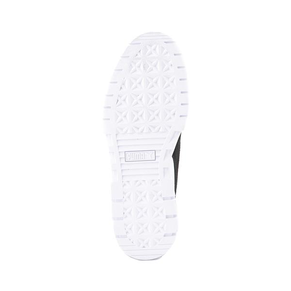 alternate view Womens Puma Mayze Platform Athletic Shoe - White / BlackALT3