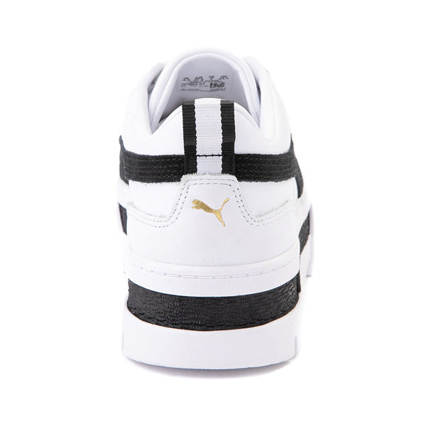 alternate view Womens Puma Mayze Platform Athletic Shoe - White / BlackALT4