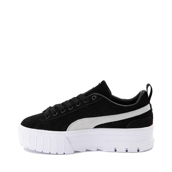 alternate view Womens Puma Mayze Platform Athletic Shoe - BlackALT1