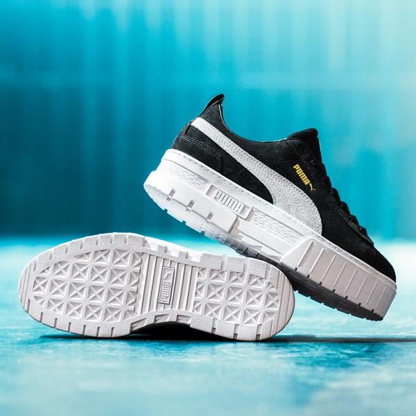 alternate view Womens Puma Mayze Platform Athletic Shoe - BlackALT1C
