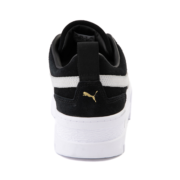 alternate view Womens Puma Mayze Platform Athletic Shoe - BlackALT4