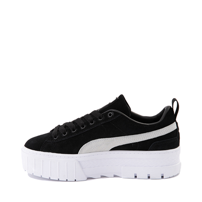 Alternate view of Womens Puma Mayze Platform Athletic Shoe - Black