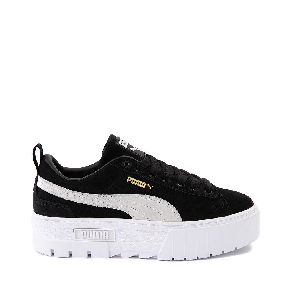 Womens Puma Mayze Platform Athletic Shoe - Black
