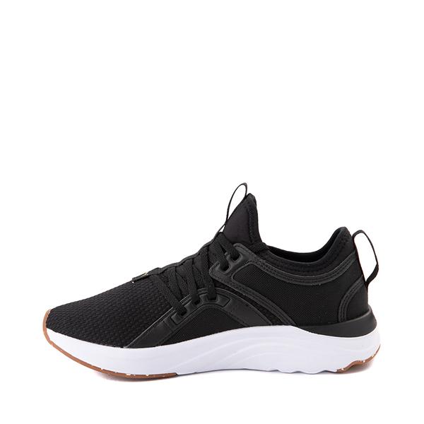 alternate view Puma SoftRide Sophia Luxe Athletic Shoe - Black / GoldALT1