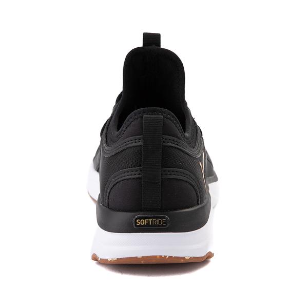 alternate view Puma SoftRide Sophia Luxe Athletic Shoe - Black / GoldALT4