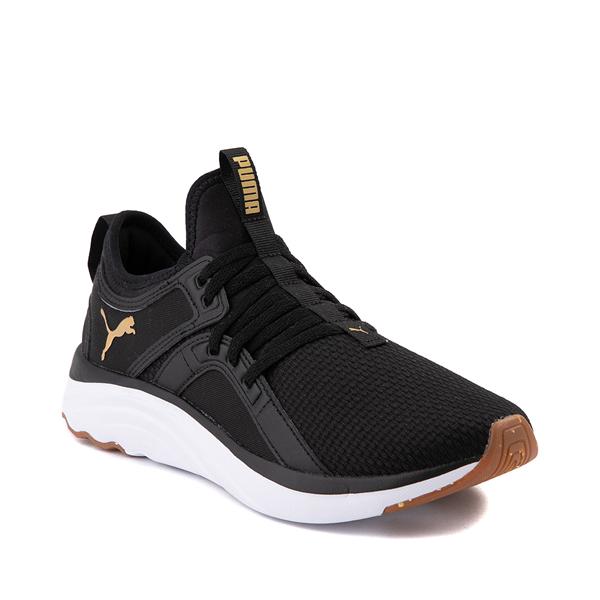 alternate view Puma SoftRide Sophia Luxe Athletic Shoe - Black / GoldALT5