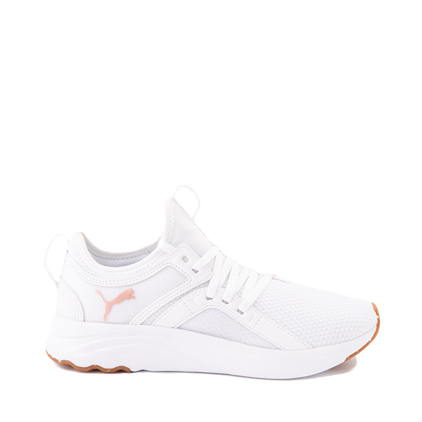 Main view of Puma SoftRide Sophia Luxe Athletic Shoe - White / Rose Gold