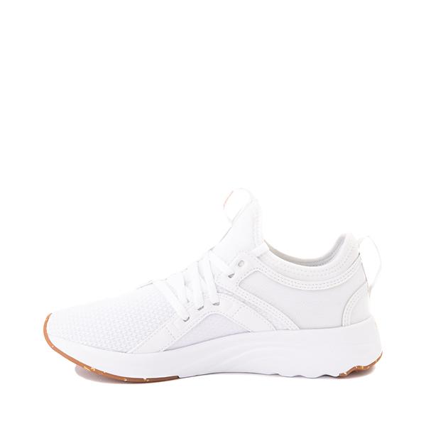 alternate view Puma SoftRide Sophia Luxe Athletic Shoe - White / Rose GoldALT1