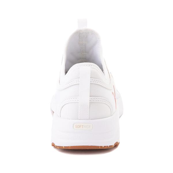 alternate view Puma SoftRide Sophia Luxe Athletic Shoe - White / Rose GoldALT4