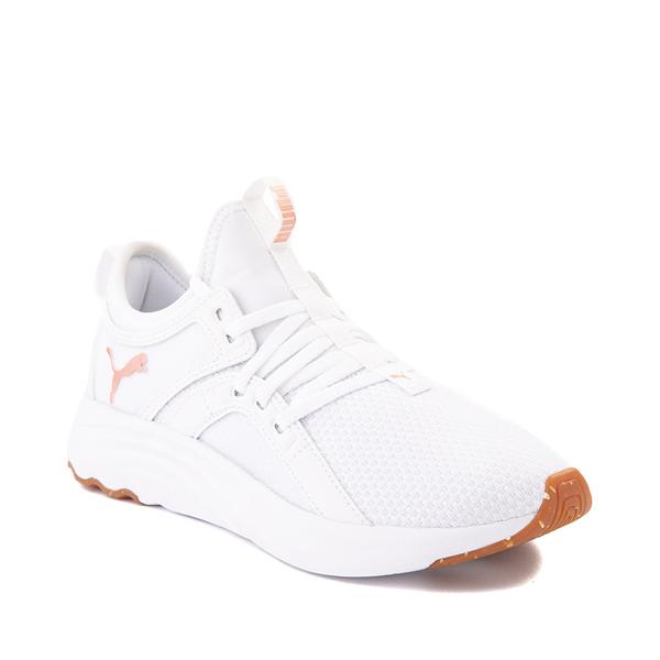 alternate view Puma SoftRide Sophia Luxe Athletic Shoe - White / Rose GoldALT5