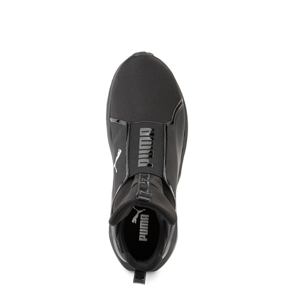 alternate view Womens Puma Fierce 2 Athletic Shoe - Black MonochromeALT2