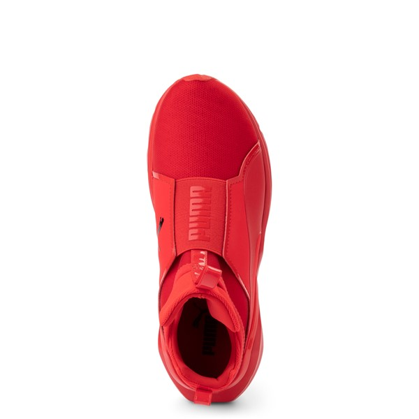 alternate view Womens Puma Fierce 2 Athletic Shoe - Red MonochromeALT2