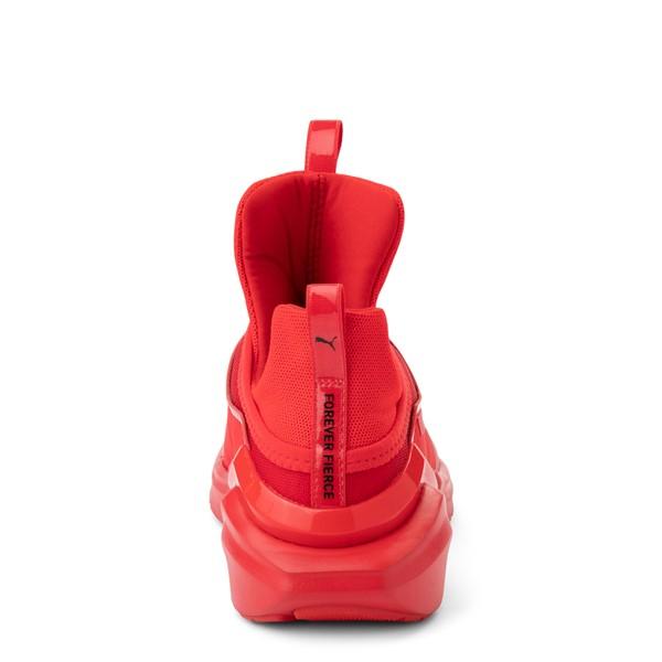 alternate view Womens Puma Fierce 2 Athletic Shoe - Red MonochromeALT4