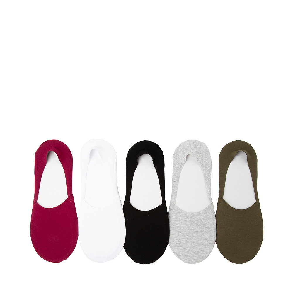 Mens Invisible Liners 5 Pack - Multicolor