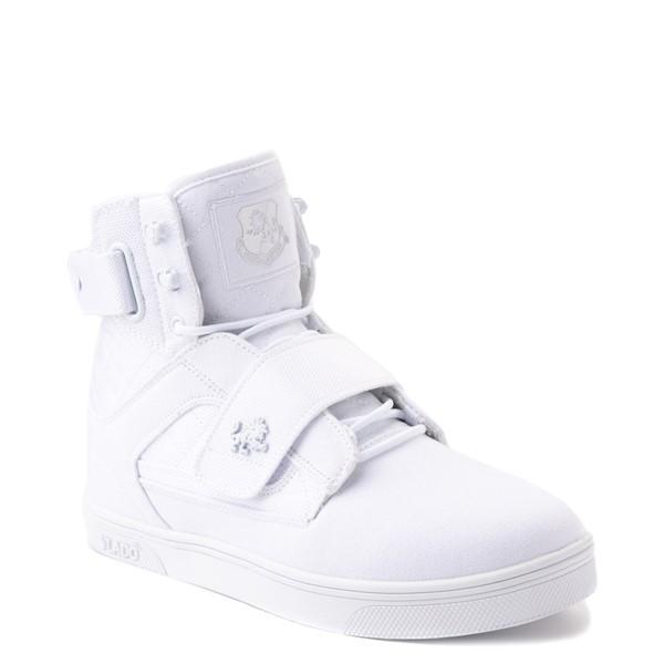 alternate view Mens Vlado Atlas II Athletic Shoe - White MonochromeALT5