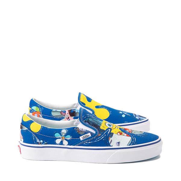 alternate view Vans x SpongeBob SquarePants™ Slip On Alohabob Skate Shoe - BlueALT1