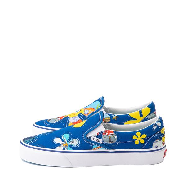 alternate view Vans x SpongeBob SquarePants™ Slip On Alohabob Skate Shoe - BlueALT1B