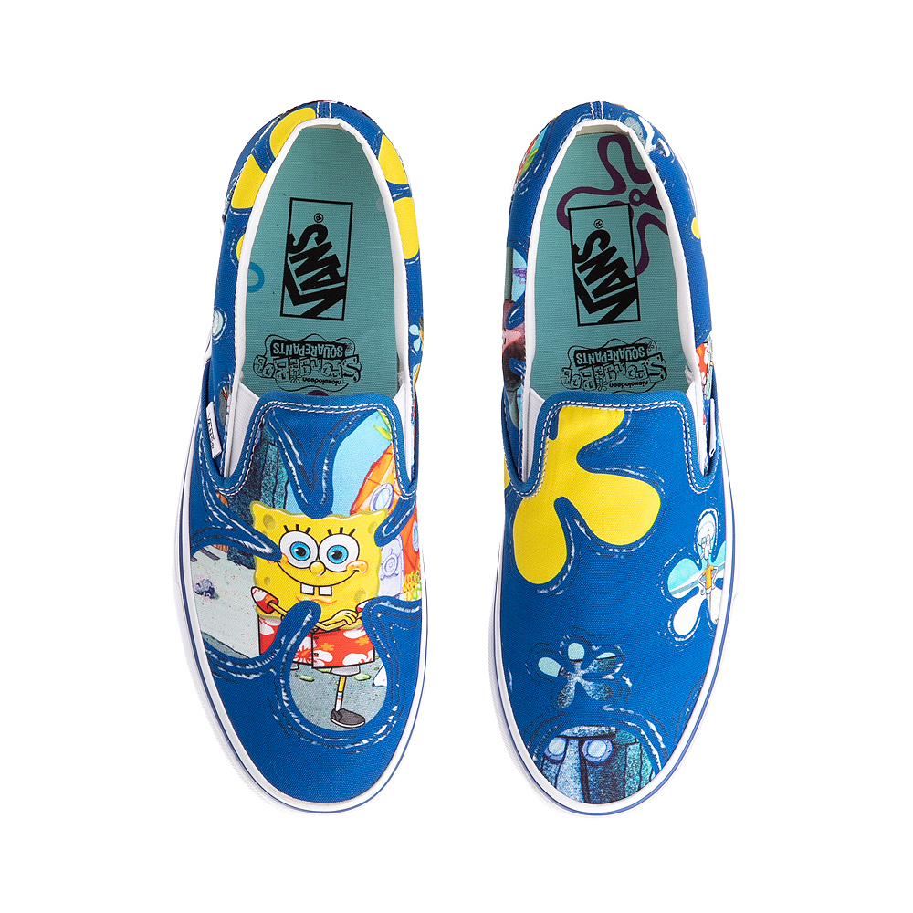 Vans x SpongeBob SquarePants™ Slip On Alohabob Skate Shoe - Blue